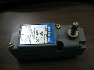 Nnb Cutler Hammer E50sa Limit Switch Body With E50dr1 Operating Head