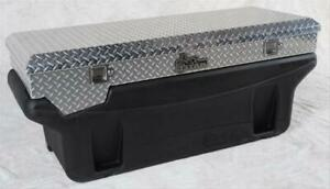 Truck Bed Toolbox Aluminum Polished Locking Chevy Ford Gmc For Ram Each