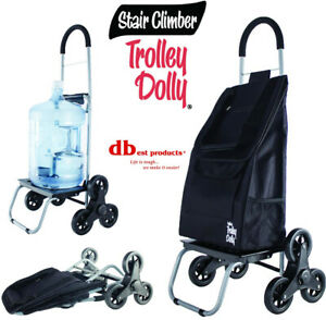 Shopping Cart Dolly Stair Climber Trolley Foldable Multi Purpose Utility Grocery