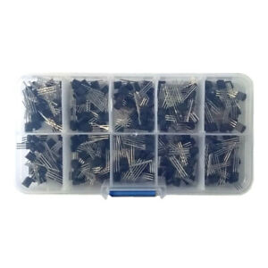 300 Pcs To 92 Transistor Assortment Box Voltage Regulator Transistor Box Kit
