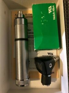 free Shipping Welch Allyn Otoscope Opthalmoscope 3 5v Diagnostic Set