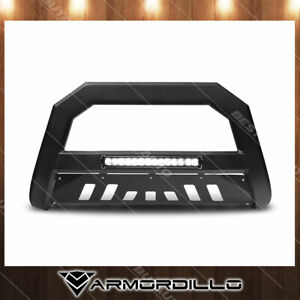 Fits 2006 2008 Dodge Ram 1500 Ar Series Bull Bar W Led Matte Black
