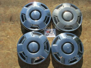 1980 s 90 s Ford 3 4 Ton Pickup Truck Van poverty Dog Dish Hubcaps Set Of 4