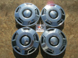 1980 s 90 s Ford 1 2 Ton Pickup Truck Van poverty Dog Dish Hubcaps Set Of 4