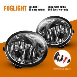 For 00 06 Toyota Tundra 01 07 Sequoia Fog Lights Assembly Lamp Wiring Kit Switch