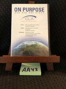 On Purpose you Are Not Alone Chiropractic Cd Set March 2010 Cla Gentempo Kent