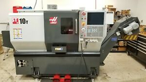 2015 Haas St10y Cnc W Live Tooling Includes Edgecam Tools