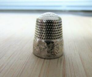 Vintage Sterling Silver Simons Brothers Thimble 5 1grams 1 B1168