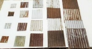 12 20 Pc Reclaimed Corrugated Metal Tin Roofing Panels