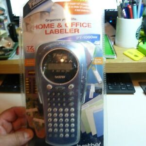 Brother P touch Home Office Handheld Labeler Pt 1000bm Label Maker Tapes