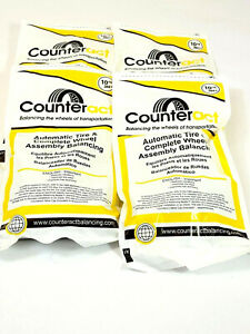 6 Bags 10oz Counteract Tire Balance Bead Bags