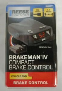 New Reese Towpower Brakeman Iv Compact Design Brake Control Vehicle End 8507111