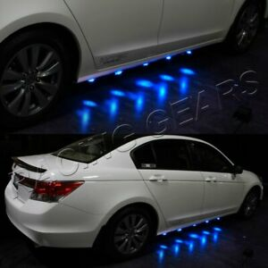 Underglow Under Car 90 Led Brabus Style Blue Puddle Lighting Lamps Undercar