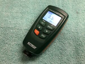 Pre owned Extech Cg204 Coating Thickness Tester