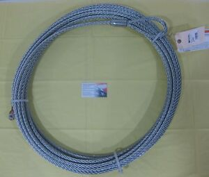 Warn 61950 Wire Rope Cable Replacement 7 16 90 M15000 16 5i Winch