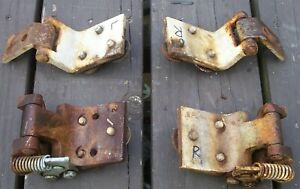 1960 1963 Ford Falcon 2 Door Hinge Set front Doors Only On 4 Dr