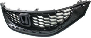 Cpp Black Grill Assembly For 2013 2015 Honda Civic Grille