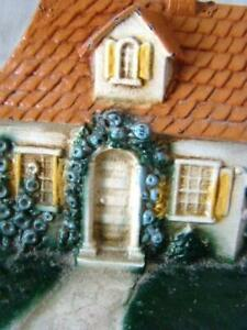 Charming Vintage Cottage House Painted Cast Iron Door Stop Hubley 211 Cape Cod