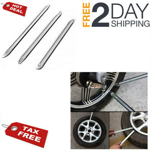 Motorcycle Tire Iron Lever Spoon Tools Set Tires Rim Bike Irons Changing Repair