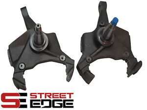 Street Edge 3 Drop Lowering Spindles For 75 91 Chevy Gmc C30 2wd Se701000