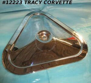 1967 1969 Corvette Tri Power Air Cleaner Lid Gm 6423802 3x2 A273c Original