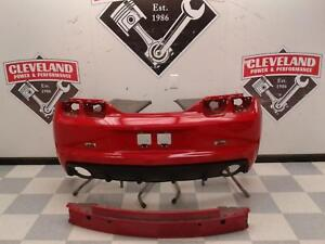2010 2013 Chevrolet Camaro Ss Oem Rear Bumper Assembly W O Park Assist Red