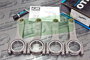 Carrillo Acura Honda B18c Pro H Connecting Rods 3 8 Carr Aa Vtc 65433s 04