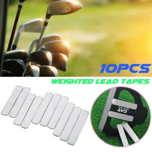 10pcs Aggravating Replacement Lead Tape Multi Use Add Weight For Golf Club