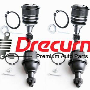 4pcs Front Upper Lower Ball Joints For Chevrolet Express 2500 3500 Savana 3500