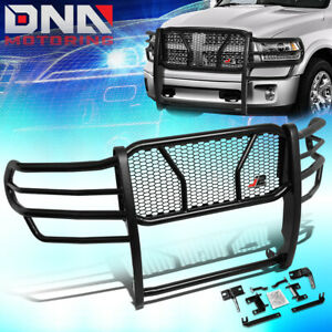 J2 Engineering For 2009 2018 Ram Truck 1500 Front Bumper Grille Mesh Brush Guard