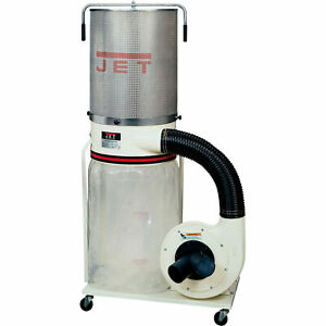 Jet Vortex Cone Dust Collector 2 Hp 1 phase 230 Volt 2 micron Canister Kit