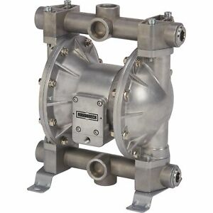 Roughneck Air operated Double Diaphragm Oil Pump 24 Gpm 1in Inlet And Outlet
