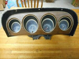 1969 Ford Mustang Mach 1 Factory Indash Tachometer Speedometer Dash Assby
