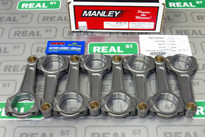 Manley Ford Modular 4 6l 5 0l Coyote Hd I beam Connecting Rods Arp2000 14518 8