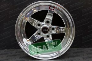 Weld Racing Rt s Rts 15x10 S71 Polished 5x114 3 Lug For 93 98 Supra Rear Wheel