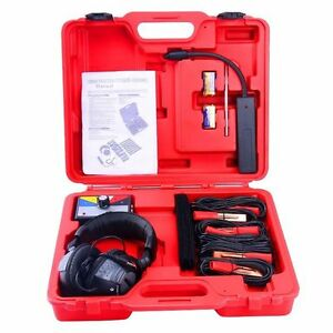 Car Electronic Stethoscope Kit Auto Mechanic Noise Diagnostic Tool Kit 6 Channel