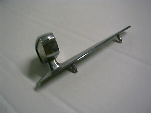 1962 Studebaker Lark Hood Ornament Chrome Fb19
