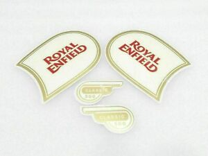 Royal Enfield Classic 500 Fuel Tank And Tool Box Sticker Set New Brand