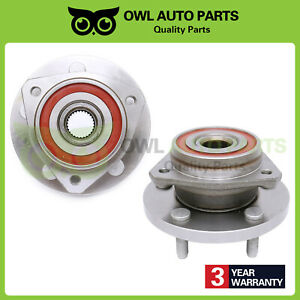 Front Wheel Bearing Hub Assembly Set Of 2 For Jeep Grand Cherokee 5 Lug 513159
