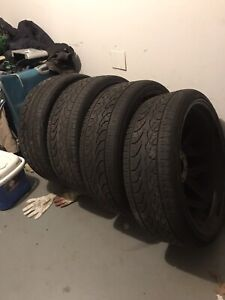 Used 24 Inch Rims And Tires Good Condition