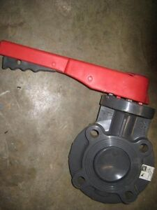 Spears 3 Pvc Butterfly Valve W lever Handle a1