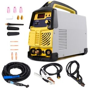 200 Amp Hf Tig arc Portable 110v 220 Vinverter Welder With Free Accessory