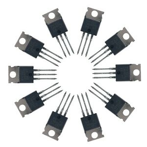 10 X Irf510n Irf510 Power Mosfet N channel Transistor 5 6a 100v Irf510pbf To 220