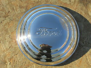 1941 Ford Hubcap W Ford Script Set Of 4 Brand New