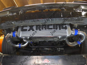 Intercooler Kit Bov For 86 92 Supra Mk3 2jz Gte Vvti Stock Twin Turbo Black