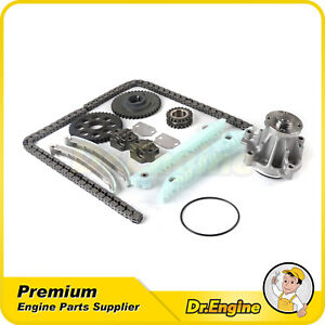 Fit 1999 2000 Ford Mustang 4 6l V8 Sohc Windsor Timing Chain Kit Water Pump