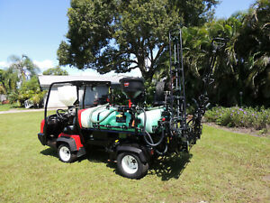 2014 Toro Workman Hdx 200 Gal 18 Ft Boom Sprayer Electric Reel 914 Hrs Rear Pto
