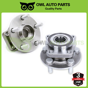 Front Wheel Bearing Hub Pair For 2005 2014 Subaru Outback Legacy W Abs 513220
