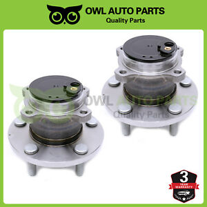 2004 2005 2006 2007 2013 Mazda 3 5 Rear 2 Wheel Bearing Hubs 5 Lug W Abs 512347