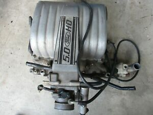 Gently used 1987 93 Ford Mustang 302 Ho Intake W throttle Body Complete Assembly
